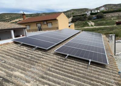 Autoconsumo de 5 kW en Cacín