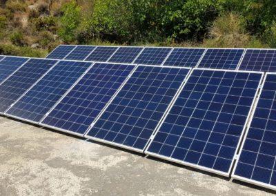 Autoconsumo trifásico de 5 kW en Carataunas